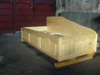 Легло от естествен масив